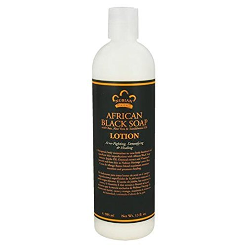 Nubian Heritage Oats and Aloe Body Lotion - 13 Ounce  Pack of 8  by Nubian Heritage