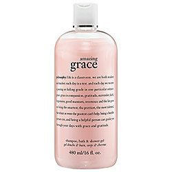 Philosophy Amazing Grace Shampoo 3 in 1 16 Ounce