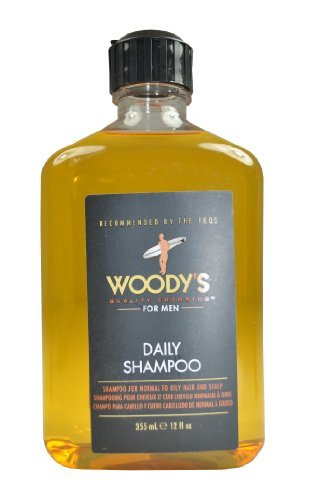 Woodys Quality Grooming Mens Daily Shampoo - 355 ml by Woodys