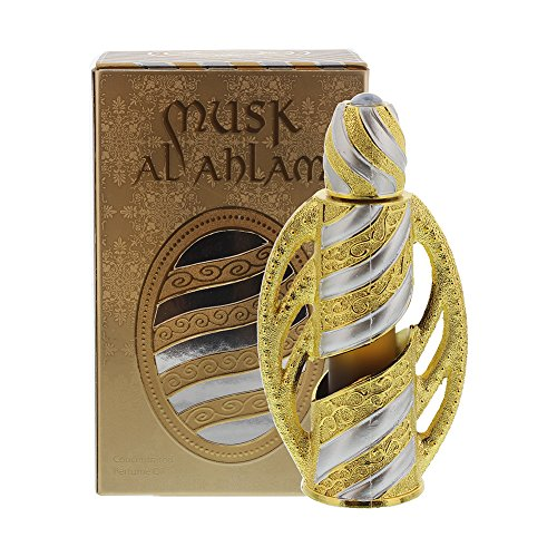 Musk Al Ahlam Fragrances Alcohol Free Perfumes in Exquisite bottle - 17ml
