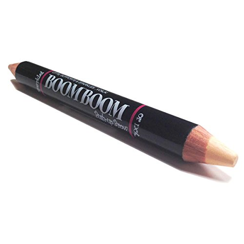 Boom Boom Brow Bar Push-Up Brow Chunky 2-Sided Eyebrow Highlighting Pencil Matte Cream and Pearl Shimmer