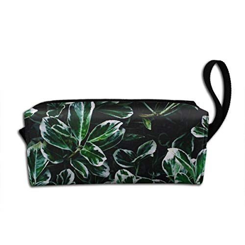Travel Makeup Abstract Beautiful Botanical Cosmetic Pouch Makeup Travel Bag Purse Holiday Gift For Women Or Girls