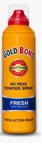 Gold Bond No Mess Spray Powder Fresh Scentaloe 2