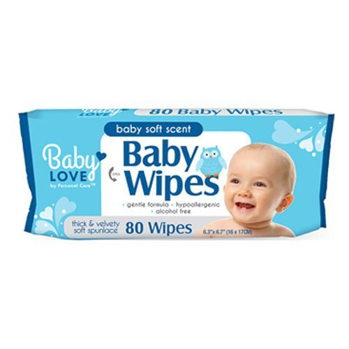 Standard Plumbing Supply BABY WIPES 1X80 by Personal Care