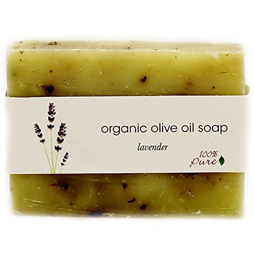 100 Pure Organic Olive Oil Soap 35oz Sea Salt 3 Pack by 100 Pure