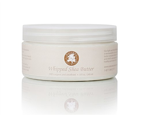 Unrefined Organic All Natural Whipped Shea Butter - Moisturizer Anti-Inflammatory and Anti-Aging Properties - 16 oz