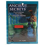 Ancient Secrets Patchouli Aromatherapy Dead Sea Mineral Bath 4 oz packet - 2pc