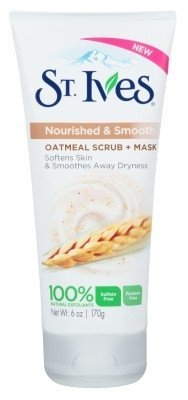 St Ives Scrub Oatmeal Facial Mask 6oz 2 Pack by St Ives