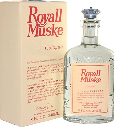 Royall Muske Of Bermuda By Royall Fragrances For Men Cologne Splash 80 Oz  Aftershave Lotion Body Cologne  by Royall
