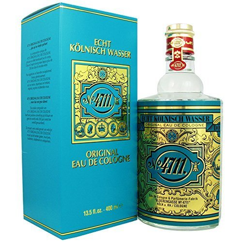 4711 by Muelhens Original Eau de Cologne 135 fl oz 400 ml by Camrose Trading Inc DBA Fragrance Express