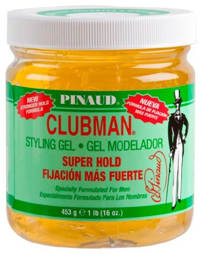 Clubman Pinaud Superhold Styling Gel Specially Formulated for Men 16-Ounce by Pinaud Clubman