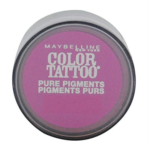 3 Pack- Maybelline Color Tattoo Pure Pigments Eye Shadow 20 Pink Rebel