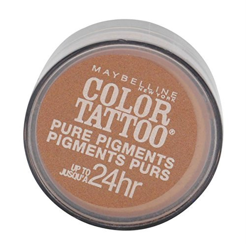 3 Pack- Maybelline Color Tattoo Pure Pigments Eye Shadow 35 Breaking Bronze