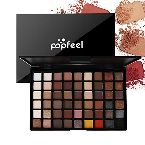 Meao 54 Colors Tones Eyeshadow Palette Makeup Gift Set with Highly Pigmented Make Up Matte Shimmer Eye Shadow Pallet Powder - Long Lasting Professional Cosmetic Palette 1