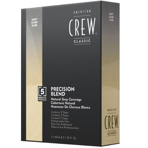 American Crew Precision Blend Natural Gray Coverage135 oz - Light 7-8