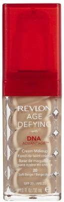 Revlon Age Defying Foundation with DNA Advantage - Soft Beige Pack of 2