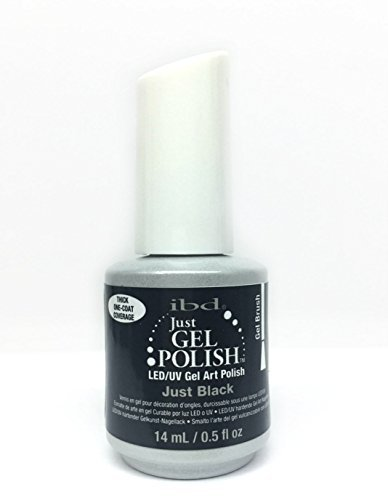 IBD Just Gel Polish - LEDUV Gel Art Polish - Just Black 56953 by IBD