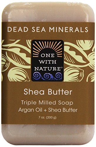 One With Nature Dead Sea Mineral Bar Soap Shea Butter 7 oz