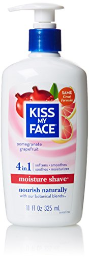 Kiss My Face Moisture Shaving Lotion Pomegranate Grapefruit