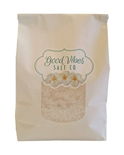 Good Vibes Salt Company All-Natural Bath Salts and Foot Soaks Good Vibes Healing Salts Field of Essential Flowers