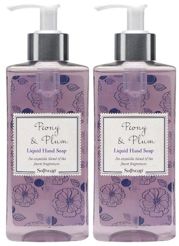Softsoap Hand Soap Peony and Plum 10oz 2pk