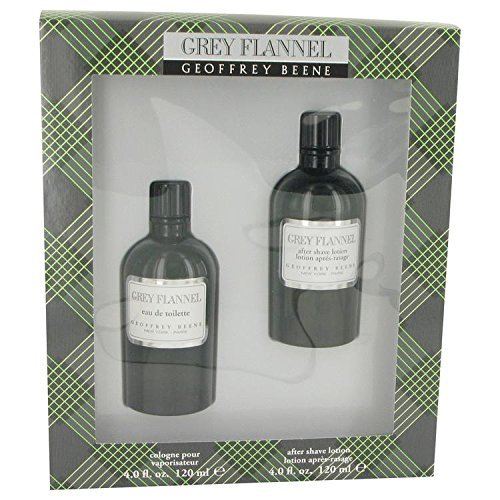 Grey Flannel By GEOFFREY BEENE For Men Gift Set - 4 oz Eau De Toilette Cologne  4 oz After Shave by Geoffrey Beene