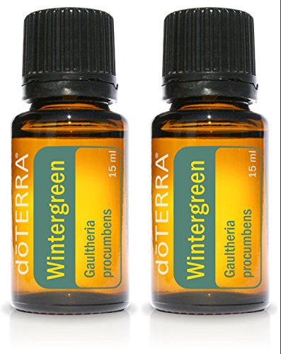 doTERRA Wintergreen Essential Oil 15 ml 2 pack