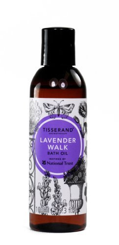 Tisserand Inspired by National Trust Lavender Walk Bath Oil 100 ml by Tisserand Aromatherapy