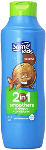Suave Kids 2 in 1 Shampoo and Conditioner Cowabunga Coconut 225 Ounce