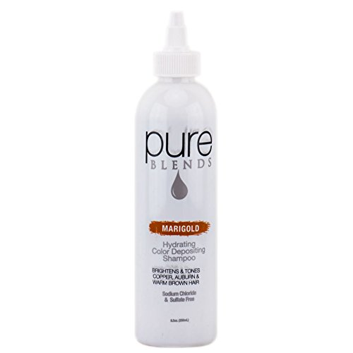 Pure Blends Hydrating Color Depositing Shampoo - Marigold - 85 Oz