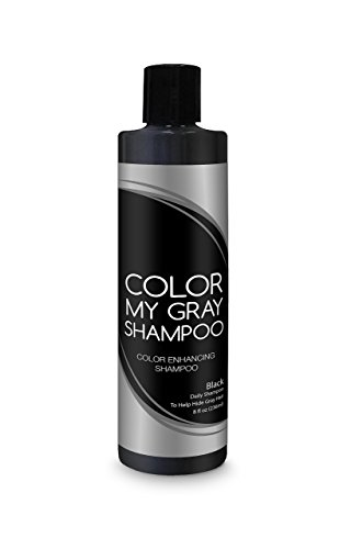 Color My Gray Color Enhancing Shampoo - For All Shades of Black Hair