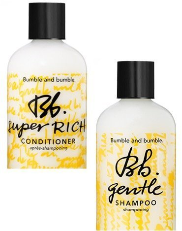 Bumble and Bumble Gentle Shampoo Super Rich Conditioner Travel Duo
