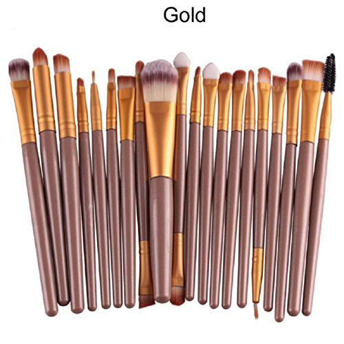 Lookatool&reg 20 Pcsset Makeup Brush Set Tools Make-up