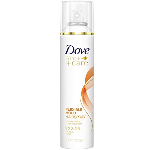 Dove Style  Care Flexible Hold Hairspray Strong Hold 7 oz  Pack of 3