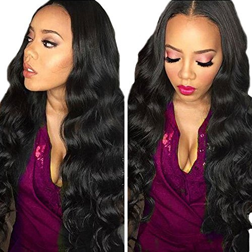 Myfashionhair 8-30 Top 5A Unprocessed Brazilian Virgin Hair 3 Bundles Body Wave Hair Extensions Wefts 1B Natural Black Especially Suit for Styled 16 18 20