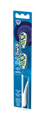Oral-B Complete Action Anti-Microbial Power Toothbrush Replacement Head 2 Count