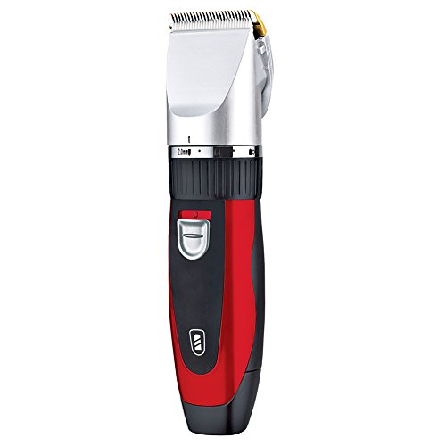 Surker Quiet Pro Hair Clippers Cordless Electric trimmer Shaver Rechargeable Wireless Grooming Kit Trimmer For Adults and Babies With 8 Attachments