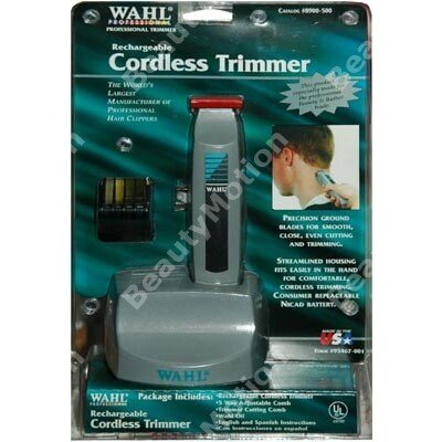 WAHL Rechargeable Cordless clipper Trimmer 8900-500 Red Top