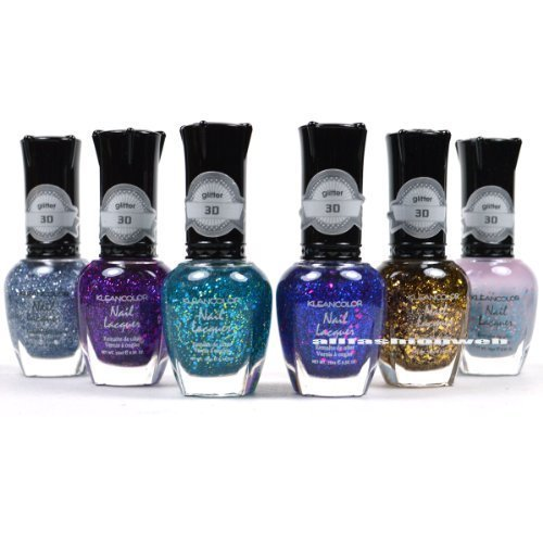 Kleancolor Nail Polish 3d Addiction Glitter Top Coat