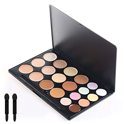 KINGMAS Professional 20 Colors Cream Concealer Camouflage Makeup Palette