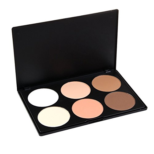 "LEFVâ""¢ Professional 6 Colors Concealer Camouflage Foundation Makeup Powder Contour Palette Face Contouring Kit"