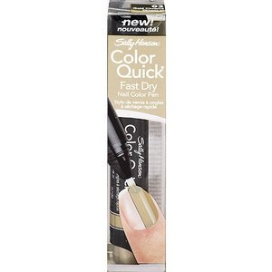 Sally Hansen Color Quick Nail Color Pen Gold Chrome 02 2 pack
