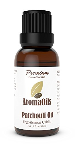 AromaOils Pure Therapeutic Patchouli Oil 1 Ounce 30 ml