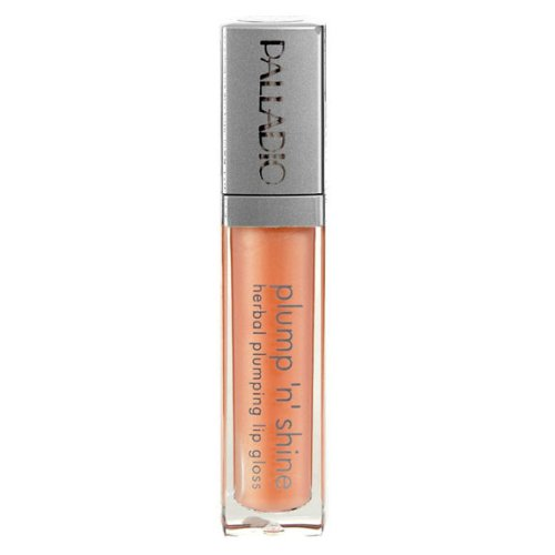 Palladio Plump N Shine Lip Gloss, Frosting, 0.19 Ounce