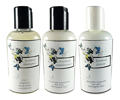 Ladybug Soap Company No synthetic fragrance Shampoo Conditioner Lotion Set