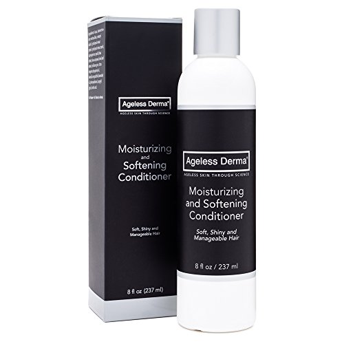 Ageless Derma Moisturizing and Softening Conditioner 8oz with Natural Shea Butter made in USA