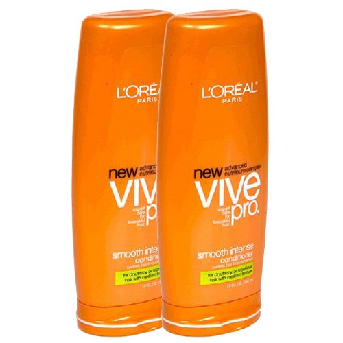 LOreal Paris Vive Pro Smooth Intense Conditioner Medium Texture 13 Fluid Ounce 2 pack