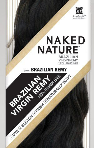 Unprocessed Naked Remy Nature Weave - BRAZILIAN REMY Bundle Hair 24